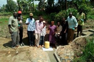 The Water Project: Handidi Community, Kadasia Spring -  Clean Water