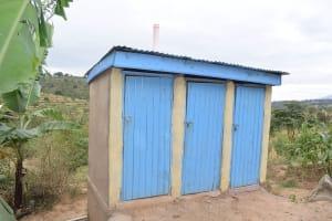 The Water Project: Kasioni Community -  Latrine