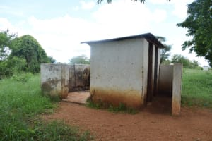 The Water Project: Waita Primary School -  Boys Latrines