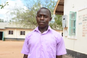 The Water Project: Matheani Secondary School -  Joshua Munywoki
