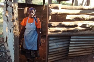 The Water Project: Irenji Primary School -  School Cook At Kitchen