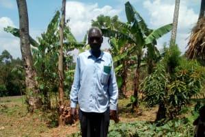 The Water Project: Handidi Community, Kadasia Spring -  Sanitation Platform