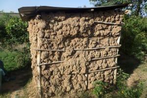 The Water Project: Emusanda Community, Walusia Spring -  Latrine