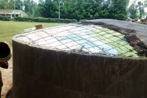 The Water Project: Friends Emanda Secondary School -  Dome Work