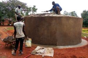 The Water Project: Evojo Secondary School -  Tank Construction