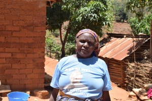 The Water Project: Kyumbe Community A -  Veronica Kailu