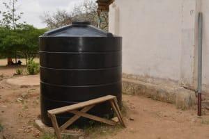 The Water Project: Ilinge Primary School -  Plastic Tank