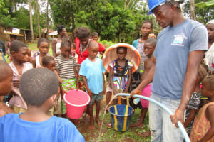 The Water Project: Kitonki Community -  Yield Testing