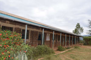 The Water Project: Uvaani Secondary School -  Gutter System