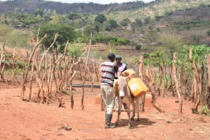 The Water Project: Kithumba Community A -  Only Clean Water Source In The Area
