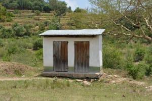 The Water Project: Ilinge Primary School -  Staff Latrines