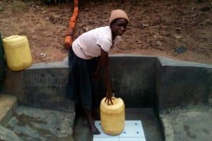 The Water Project: Handidi Community, Matunda Spring -  Clean Water