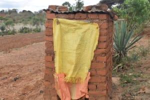 The Water Project: Mitini Community A -  Latrine