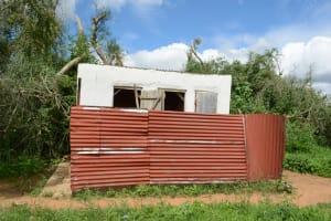 The Water Project: Matheani Secondary School -  Girls Latrines