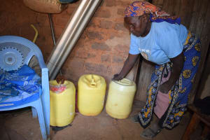 The Water Project: Kyumbe Community A -  Water Storage