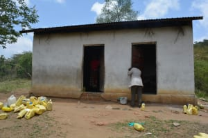 The Water Project: Ilinge Primary School -  Kitchen