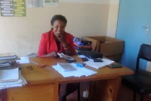 The Water Project: Malinya Girls Secondary School -  Senior Teacher Mrs Carolyne