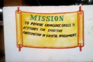 The Water Project: Mwitoti Secondary School -  School Motto