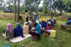 The Water Project: Timbito Community, Atechere Spring -  Training