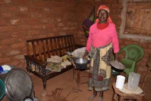 The Water Project: Katuluni Community -  Inside
