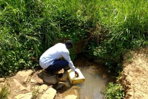 The Water Project: Rwempisi-Amanga Community -  Current Water Source