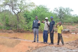 The Water Project: Ikulya Community -  Finished Sand Dam