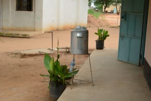 The Water Project: Matheani Secondary School -  Hand Washing Station