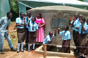 The Water Project: Friends Emanda Secondary School -  Clean Water