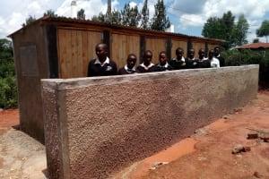 The Water Project: Evojo Secondary School -  New Latrines