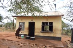 The Water Project: Ikaasu Secondary School -  Kitchen