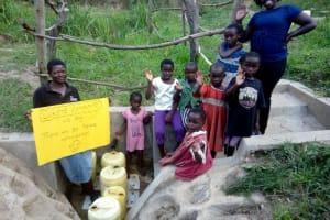 The Water Project: Lutali Community, Lukoye Spring -  Dedication