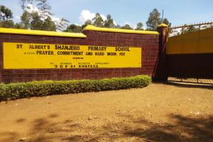 The Water Project: Shanjero Primary School -  School Entrance