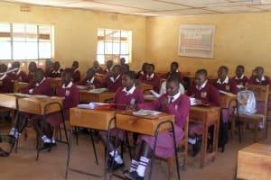 The Water Project: Lureko Girls Secondary School -  Students In Class