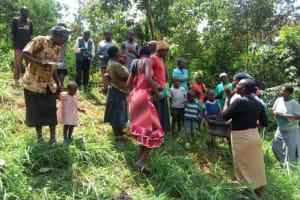 The Water Project: Handidi Community, Matunda Spring -  Training