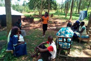 The Water Project: Mukhuyu Community, Shikhanga Spring -  Training