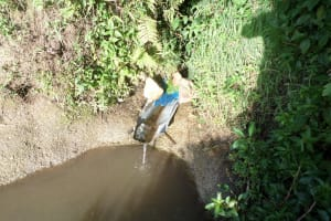 The Water Project: Emusanda Community, Walusia Spring -  Walusia Spring