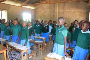 The Water Project: Kwa Kaleli Primary School -  Students In Class