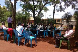 The Water Project: Evojo Secondary School -  Training