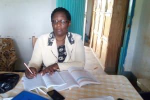 The Water Project: Gidagadi Primary School -  Headteacher Rose Lamka