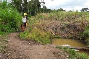 The Water Project: Rubani-Kyawalayi Community -  Carrying Water