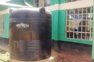 The Water Project: Malinya Girls Secondary School -  Plastic Tank