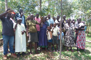 The Water Project: Lutali Community, Lukoye Spring -  Group Picture