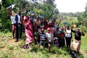 The Water Project: Handidi Community, Matunda Spring -  Group Picture