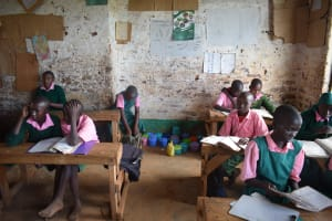 The Water Project: Waita Primary School -  Students In Class