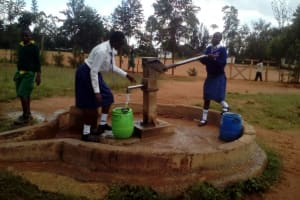 The Water Project: Matete Girls High School -  Well Down The Road