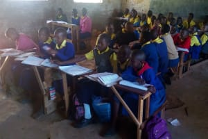 The Water Project: Gidagadi Primary School -  Students In Class