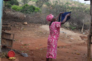 The Water Project: Kithumba Community A -  Clothesline