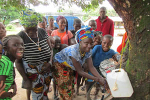 The Water Project: Conakry Dee Community A -  Hand Washing