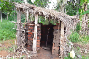The Water Project: Rwempisi-Amanga Community -  Latrine