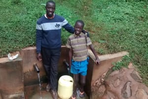 The Water Project: Endeli Community, Walibese Spring -